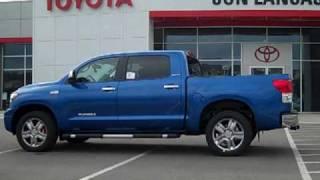 2010 Toyota Tundra Crew Max Limited- Quick Look- Jon Lancaster Toyota videos