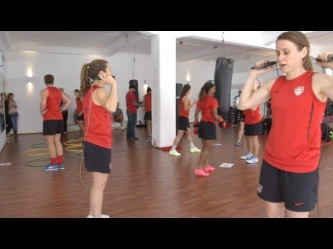 Boxercise with the WNT