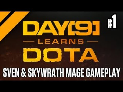 Day[9] Learns Dota - BIRTHDAY EDITION! Sven and Skywrath Mage