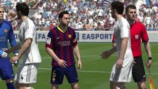 FIFA 14 (PS4) Real Madrid V FC Barcelona Gameplay [1080p HD]
