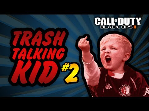 Black Ops 2 Voice Trolling - Trash Talking Kid #2 - DRUNK GIRL RAGE & I'm MrTechnicalDifficult?