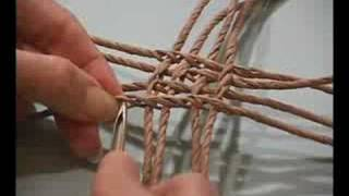 "Scenes From The DVD ""Ply-Split Garlic Basket"" With"
