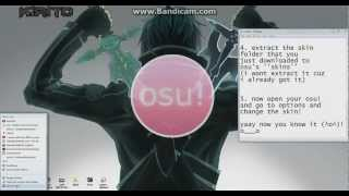 Osu! Learn How To Install And Download Skins!