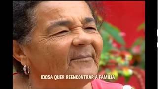 Idosa abandonada em asilo de Rio Pomba quer reencontrar sua fam�lia