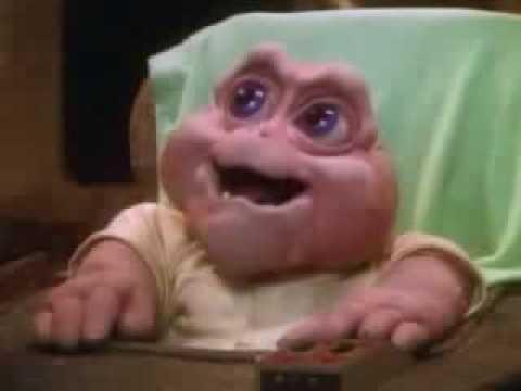 Dinosaurio bebe sinclair no la mama youtube - El baul de tu bebe ...