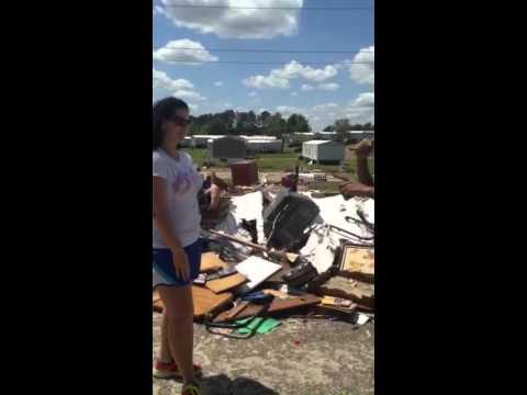 Pearl Mississippi Tornado Damage