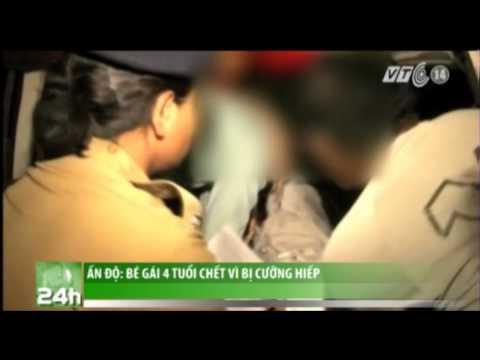 VTC14_Ấn  Độ: Bé gái 4 tuổi chết vì bị cưỡng hiếp