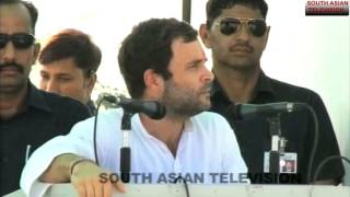 Rahul Gandhi unprepared speech
