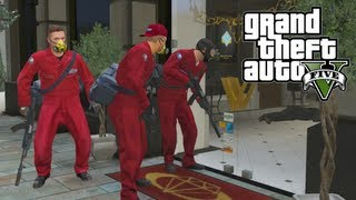 GTA 5 EPIC Jewelry Store Robbery How To Set Up Heist