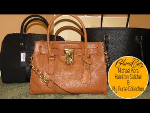 ❤ 68| Michael Kors Hamilton Satchel & My Purse Collection ❤