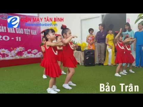 Múa thiếu nhi: Đến trường - ngày nhà giáo Việt Nam 20-11