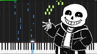 Megalovania - Undertale [Piano Tutorial] (Synthesia)