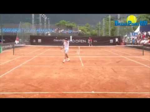 Rafael Nadal e João Sousa - Rio Open 2014