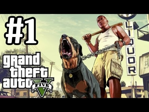 GTA 5 Walkthrough Part 1 With Commentary - Simply Incredible - Grand Theft Auto V Let's Play