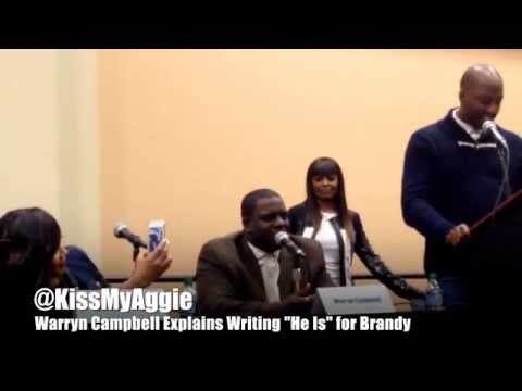Warryn and Erica Campbell Talk Writing