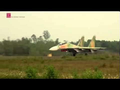 Máy bay SU30MK2 việt nam xuất kích chặn máy bay trung quốc ở trường sa.[ SU30MK2] YOUTUBE