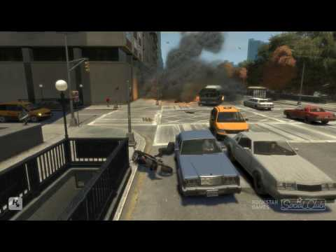 GTA 4 Stunts 3