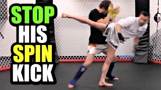 How To Defend Against Spinning Hook Kicks   Kickboxing MMA TMA
