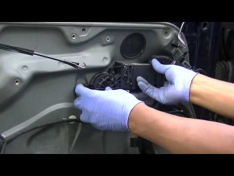 Vw Golf Jetta Mk4 Door Lock Module Removal Youtube