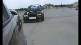 Профессиональный дрифт на BMW E30 с двигателем M54B30