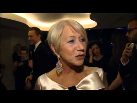 Helen Mirren, Hugh Grant Laud British Theatre At London Awards Show