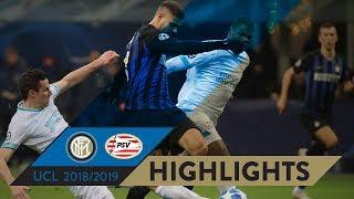 INTER 1-1 PSV | HIGHLIGHTS | Matchday 06 - UEFA Champions League 2018/19
