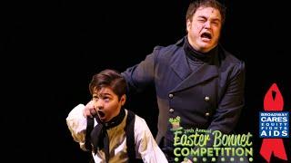 Youngest Jean Valjean Ever in Broadway's Les Miserables - Easter Bonnet 2015