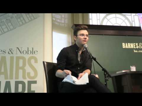 Chris Colfer Q&A at TLOS 3 book signing NYC