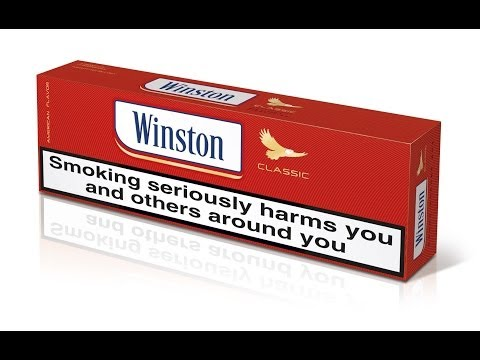 Winston Classic (Red) Cigarette Review - EU