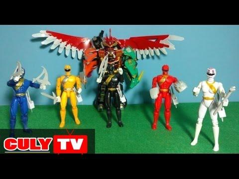 5 anh em siêu nhân gao có vũ khí giống phim đồ chơi trẻ em mô hinh | Figures Gao ranger toy for kids