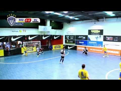 Fitzroy vs Pascoe Vale, Round 12, (Men's) 2013/14 Season, NIKE V-League Premiership