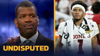 Rob Parker says Kyler Murray is making a mistake entering the NFL Draft | CFB | UNDISPUTED