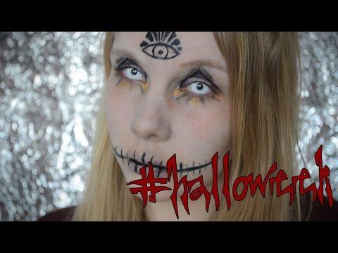 #halloweek | Illuminati / Hexen Make-Up Tutorial