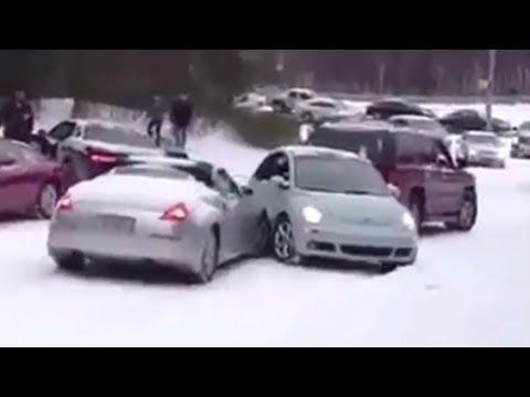 Sudden Snowstorm Devastates Unprepared Southern City [VIDEO]