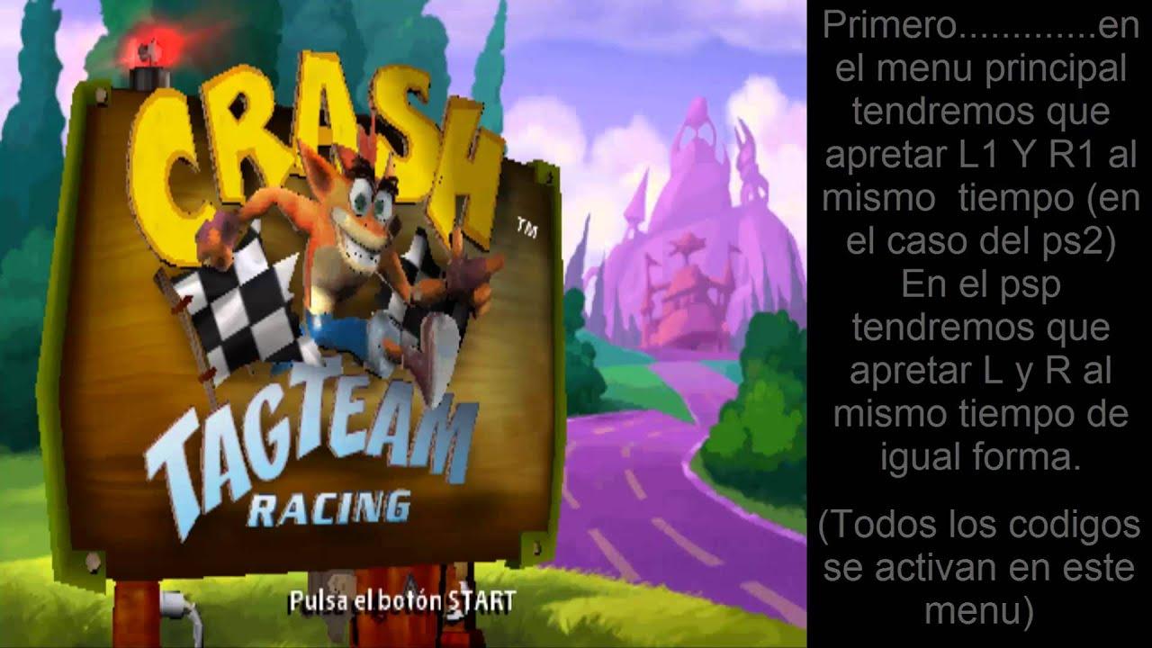 Crash Ctr Para Psp