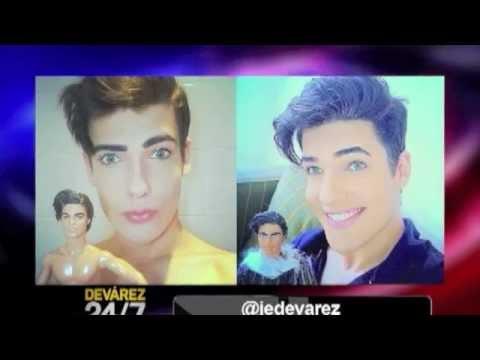 Celso Dolls, Ken, la Barbie, Cirugía plástica para parecer un Muñeco, Regidor Luis Canela