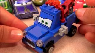 Lego CARS 2 Ivan Mater Disney Pixar Carros 2 Video Dublado