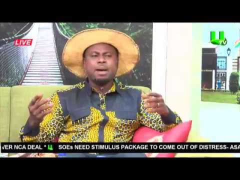 A1 Bread CEO and Abeiku Santana on #AdekyeNsroma on UTV