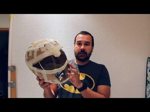 White Ranger Helmet Tutorial Vol.1