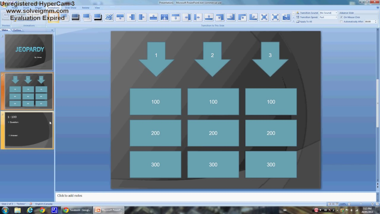 How to make your own jeopardy template in powerpoint for How to make my own powerpoint template