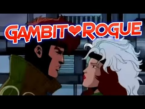 Gambit and Rogue Actual Scenes