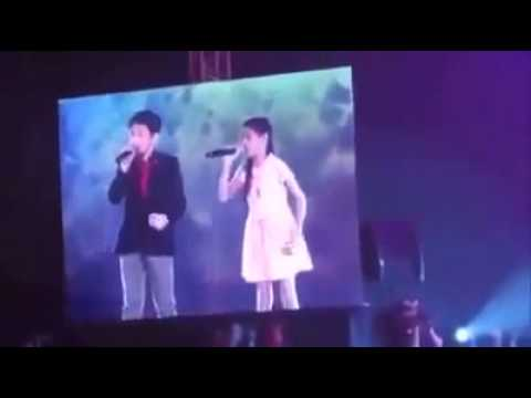 Darren Espanto with TVK2 and Lyca on Kapamilya Awards (08 11 ,2015)