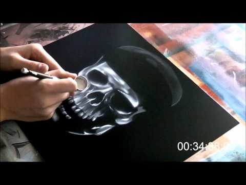 Airbrush - Pirates of the Caribbean On Stranger Tide - Speed Paint (HD)
