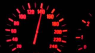 BMW 530i E39 0-200 Km/h