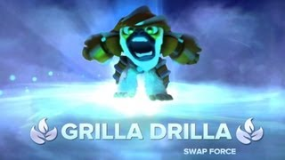 Grilla Drilla Gameplay Preview (Skylanders Swap Force