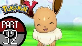 Pokemon X And Y Part 32: Reflection Cave Eevee Joins