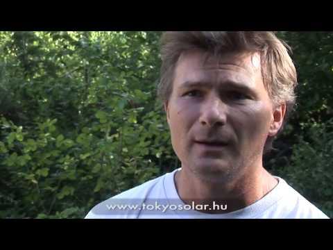 TokyoSolar napkollektor rendszer tapasztalatok   Boros Attila, Diósd