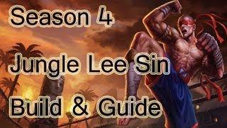 League Of Legends Jungle Lee Sin Build & Guide Season 4