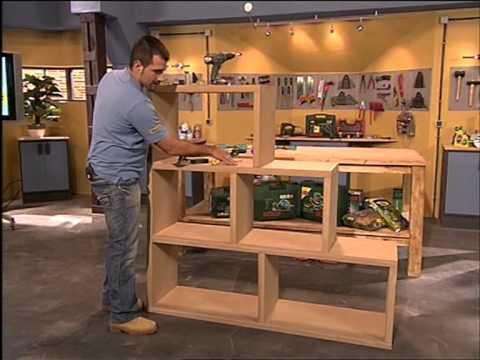C mo hacer una estanter a modular decorativa youtube for Como disenar una estanteria