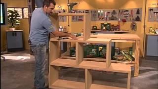 Estantería modular decorativa